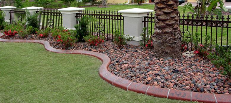 Landscaping Curbing Cape Coral
